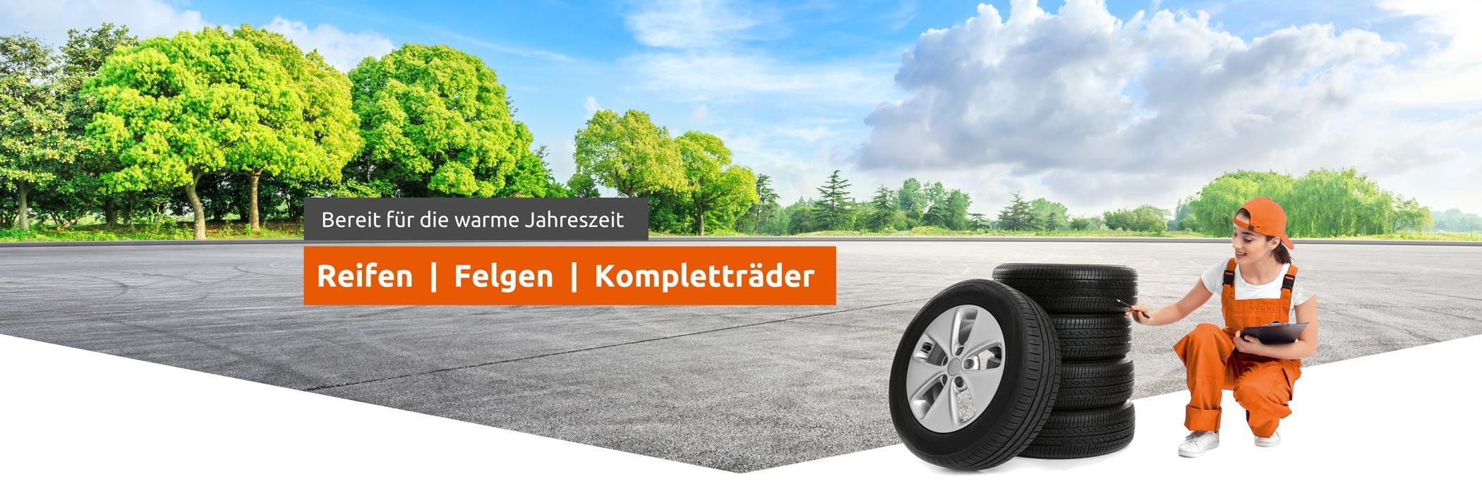 Reifen Onlineshop - Reifenvertrieb 24 - Reifen, Felgen, Kompletträder